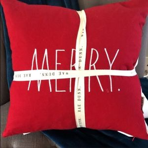 Rae Dunn Bundle Merry & Bright pillows